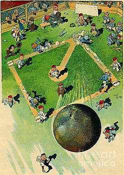 Grand-Slam Homerun 1913 by Padre Art