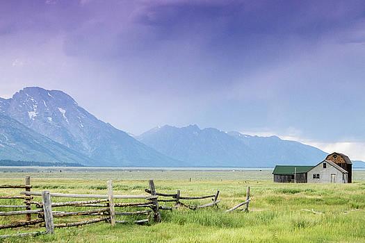 Grand Teton Homestead by Dawn Romine