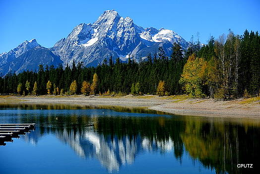 Grand Tetons 2 by Carrie Putz