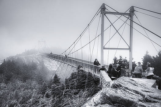 Grandfather Mountain Fog by Ray Devlin