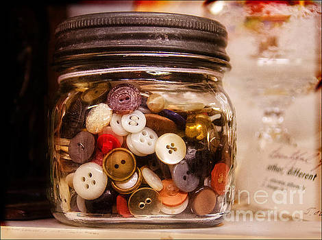 Grandma's Button Jar by Norma Warden