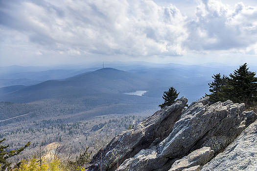 Grandmother Mountain and Linville by Ray Devlin
