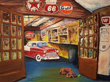 Grandpa's Garage by Tim Loughner