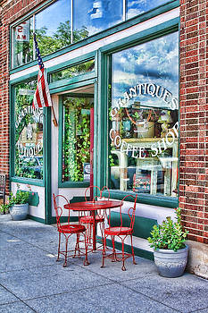 Grantiques Coffee Shop by Vicki McLead