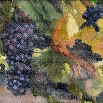 Grape Cluster by Donna Tuten