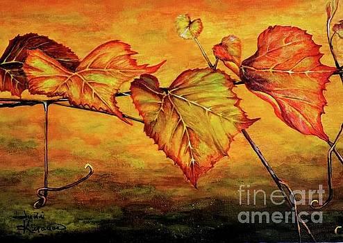 Grape Vine by Judy Kirouac