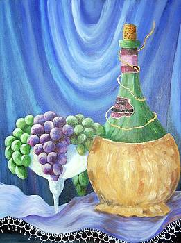 Grapes and Lace by Janna Columbus
