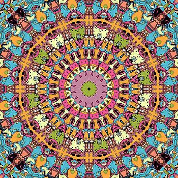 Graphic Novel Style Kaleidoscope by Joy McKenzie