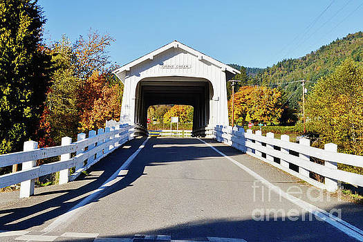Grave Creek Covered Bridge 1 by Ansel Price