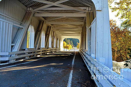 Grave Creek Covered Bridge 3 by Ansel Price