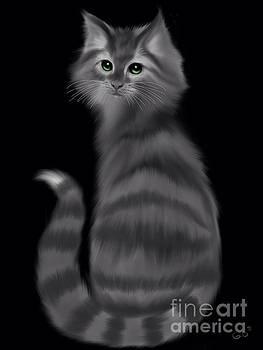 Nick Gustafson - Gray Striped Cat