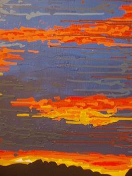 Gray Sunset by Samuel Freedman