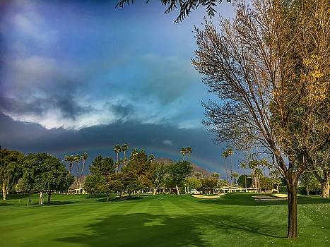 Great day for Golf by Chris Tarpening