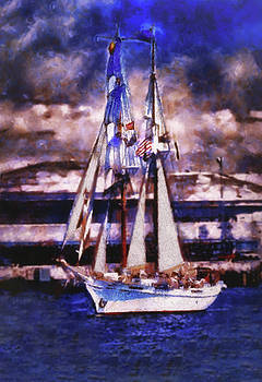 Great Day For Sailing by Joseph Hollingsworth