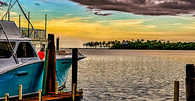 Great Day To Fish by Mike Berry