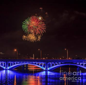 Great Falls Fireworks59 by John Lee
