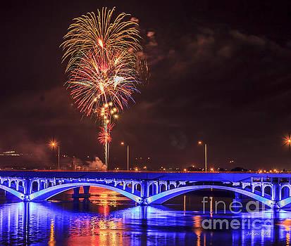 Great Falls Fireworks60 by John Lee