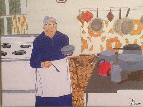 Great-Grandmaw's Kitchen by Tim Blankenship