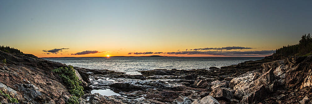 Great Head Beach Sunrise by Brent L Ander
