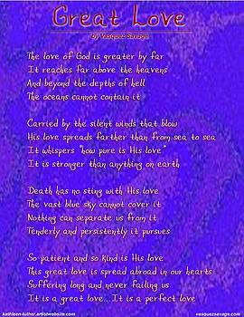 Great Love by Kathleen Luther