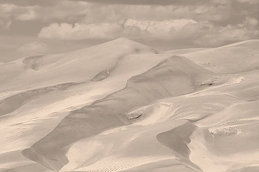 James BO  Insogna - Great Sand Dunes  - In Sepia