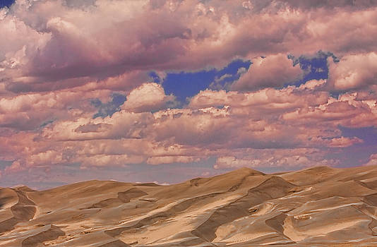 James BO  Insogna - Great Sand Dunes and Great Clouds