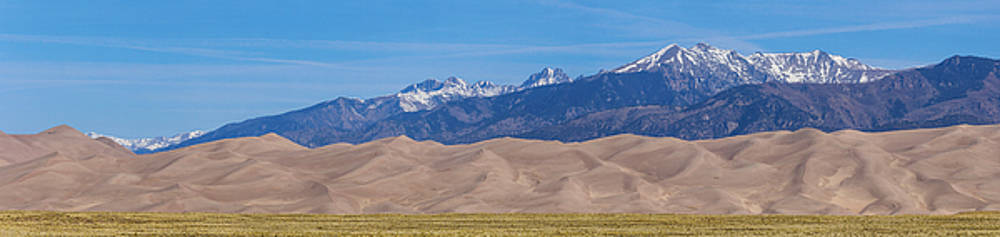 James BO  Insogna - Great Sand Dunes National Park and Preserve Panorama