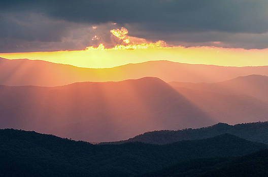 Great Smoky Mountains NC TN Clingman's Gold by Robert Stephens