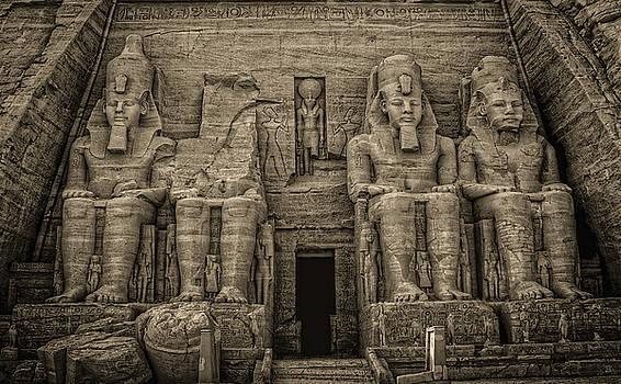 Great Temple Abu Simbel  by Nigel Fletcher-Jones