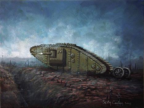 Great War Tank by Sean Conlon