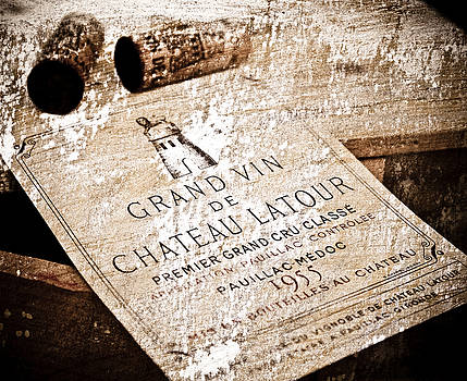 Frank Tschakert - Great Wines Of Bordeaux - Chateau Latour 1955
