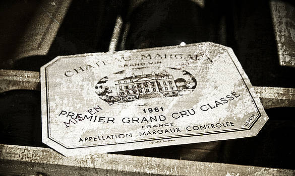 Frank Tschakert - Great Wines Of Bordeaux - Chateau Margaux 1961