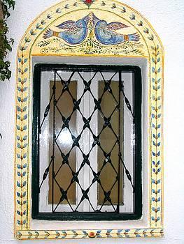 Yvonne Ayoub - Greece Decorative Window