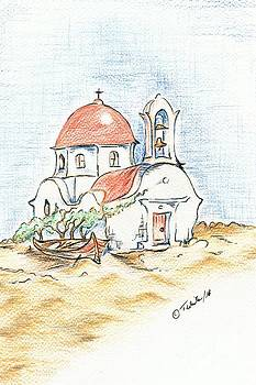 Greek Church  by Teresa White