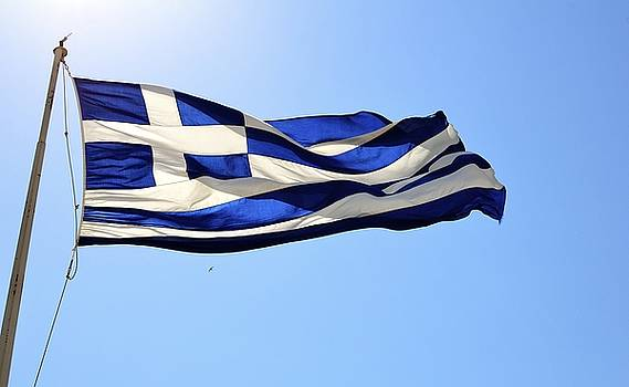 Corinne Rhode - Greek Flag