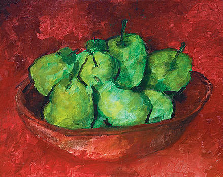Green Apples and Pears by Robert Cooper