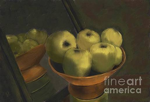 Green Apples by Sydne Archambault