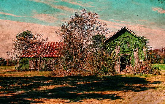 Green Barns by Victor Montgomery