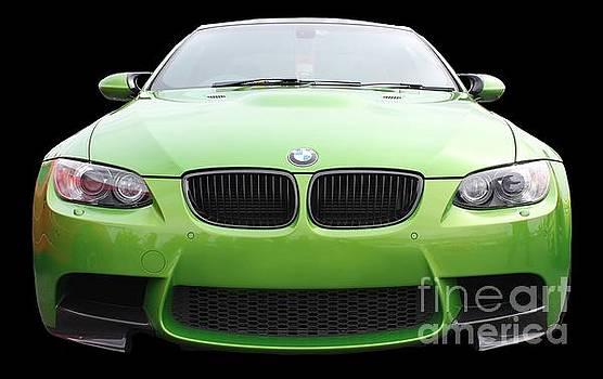 Green BMW by Vicki Spindler