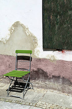 Green Chair by Brooke T Ryan