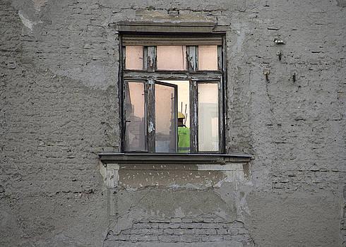 Green Dot Of Destruction by Zeljko Dozet