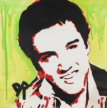 Green Elvis by Dean Russo