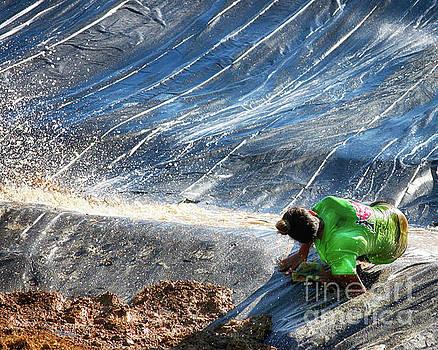 Green Falls  by Steven Digman