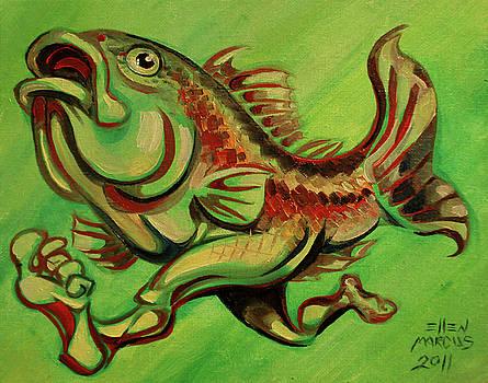 Green Fish Run by Ellen Marcus
