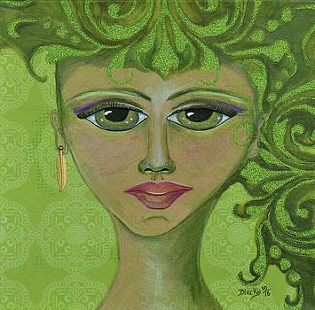 Green Genie by Donna Blackhall