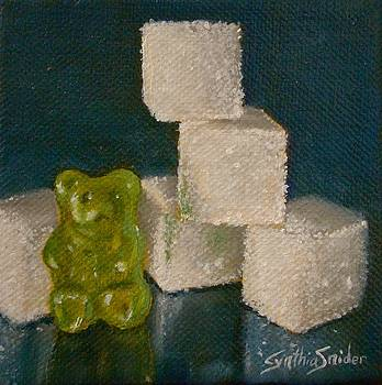 Green Gummy Bear by Cynthia Snider