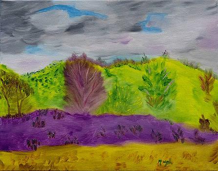 Purple Mist by Meryl Goudey