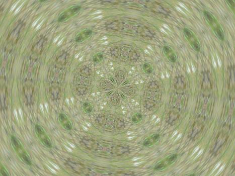 Green Kaleidoscope by Skyler Tipton