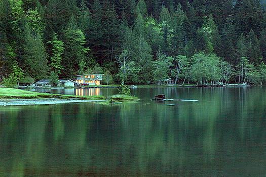 Green Lake by Ni Zhu