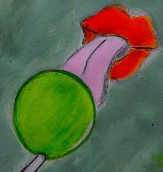 Green Lollipop  by Nicole Burrell